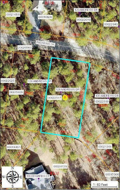 Residential Lots & Land For Sale: 128 Andrews Drive