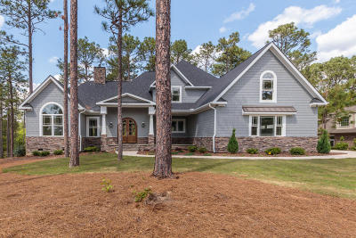 Pinehurst NC Single Family Home Active/Contingent: $875,000