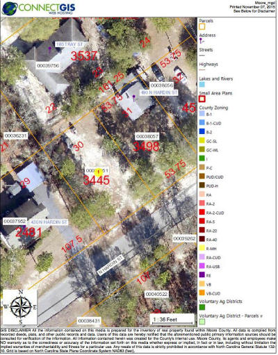 Pinehurst, Raleigh, Southern Pines Residential Lots & Land Sold: N Hardin Street