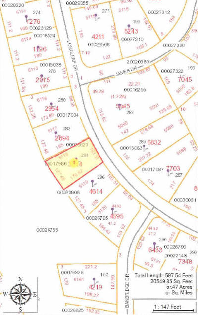 Aberdeen, Cameron, Carthage, Eagle Springs, Eastwood, Foxfire, Jackson Springs, Lakeview, Pinebluff, Pinehurst, Robbins, Seven Lakes, Southern Pines, Vass, West End, Whispering Pines, Woodlake Residential Lots & Land For Sale: 284 Longleaf Drive