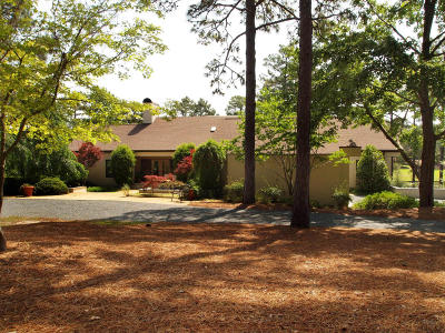 Aberdeen, Cameron, Carthage, Eagle Springs, Eastwood, Foxfire, Jackson Springs, Lakeview, Pinebluff, Pinehurst, Robbins, Seven Lakes, Southern Pines, Vass, West End, Whispering Pines, Woodlake Single Family Home For Sale: 35 Southern Hills Place
