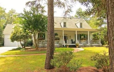 Pinehurst, Southern Pines Single Family Home For Sale: 110 E McCaskill Road