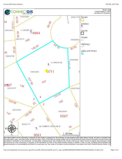 Residential Lots & Land Sold: 6 Carter