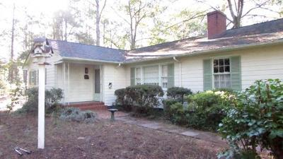 Southern Pines Single Family Home For Sale: 1660 Midland Road