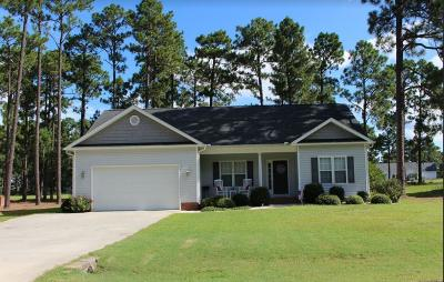 Pinebluff NC Single Family Home Sold: $162,000