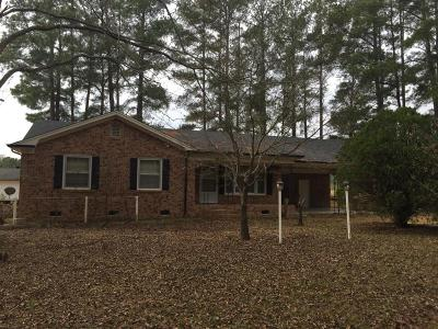 Single Family Home Active/Contingent: 254 S Horace Walters Road