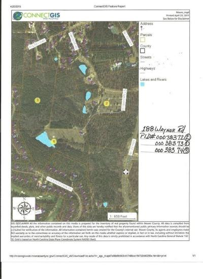 Carthage Residential Lots & Land Active/Contingent: 188 Waynor Road