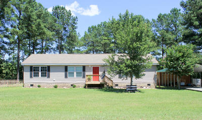 Cameron Single Family Home Active/Contingent: 145 Samuel Medlin Lane