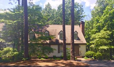 Southern Pines Condo/Townhouse Active/Contingent: 25 Village In Woods