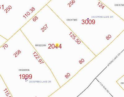 Pinehurst Residential Lots & Land For Sale: 301 Spring Lake Drive