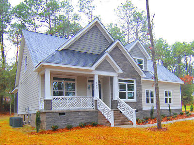 Southern Pines NC Single Family Home Sold: $338,900