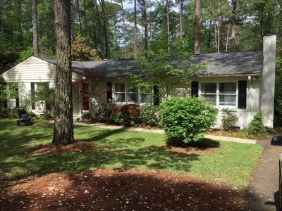 Southern Pines NC Single Family Home Sold: $235,000