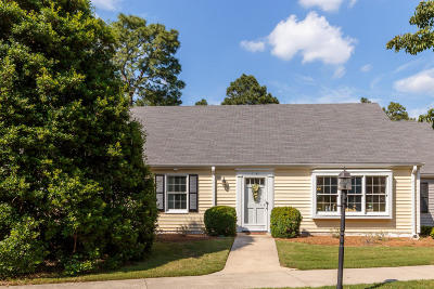 Southern Pines Condo/Townhouse Active/Contingent: 14 Village Green Circle
