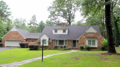 Southern Pines Single Family Home For Sale: 280 Hillside Road