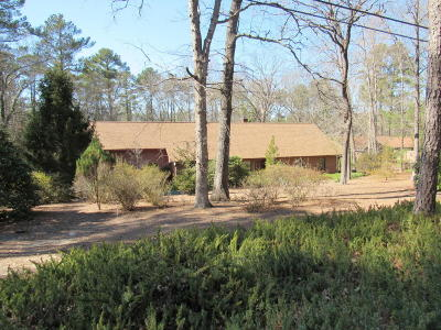 Southern Pines Single Family Home Active/Contingent: 420 Hill Road