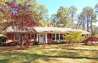 Carthage Single Family Home For Sale: 671 Vass-Carthage Road