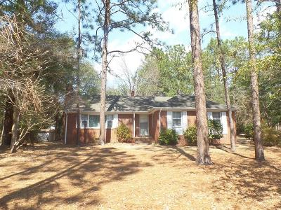 Moore County Rental For Rent: 500 Sun Road