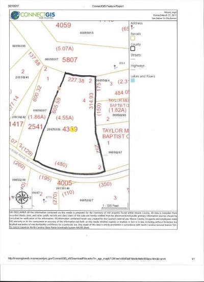 Jackson Springs NC Residential Lots & Land For Sale: $49,900