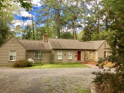 Southern Pines Single Family Home For Sale: 530 E Indiana Avenue