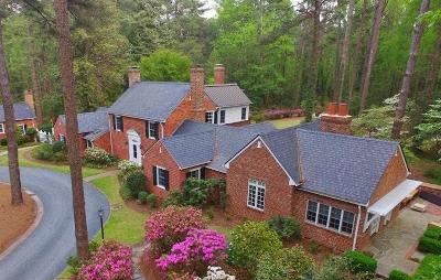 Southern Pines Single Family Home For Sale: 285 N Bethesda Road
