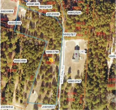 Whispering Pines Residential Lots & Land For Sale: Split Rail Road