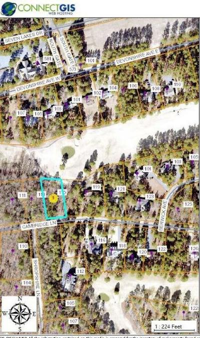 West End NC Residential Lots & Land For Sale: $15,000