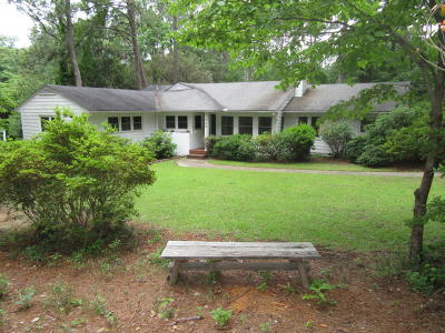 Southern Pines Single Family Home For Sale: 250 Hill Road