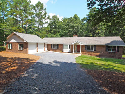 Pinehurst Single Family Home Active/Contingent: 115 Quail Run
