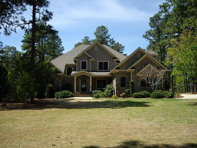 Southern Pines Single Family Home For Sale: 155 Dr Neal Road