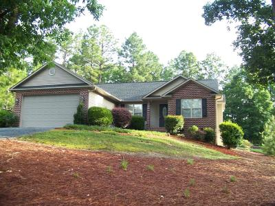 West End NC Single Family Home For Sale: $172,000