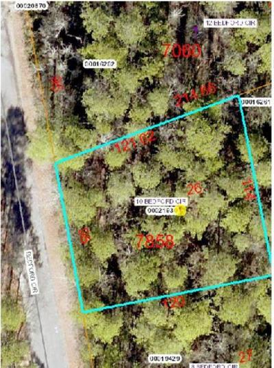 Pinehurst NC Residential Lots & Land Active/Contingent: $16,000