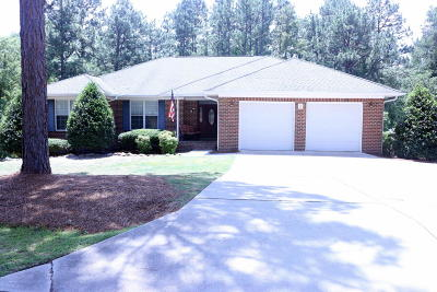 Pinehurst Single Family Home Active/Contingent: 2 S Surry Circle