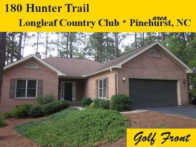 Southern Pines Single Family Home For Sale: 180 Hunter Trail