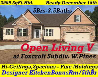 Foxcroft Single Family Home For Sale: 3 New Day Way
