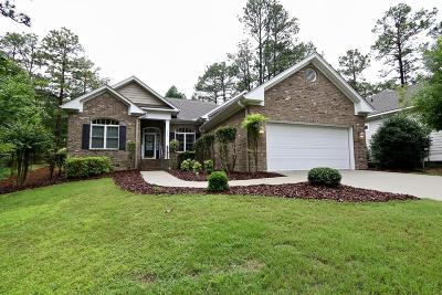 Southern Pines Single Family Home Active/Contingent: 122 Triple Crown Circle