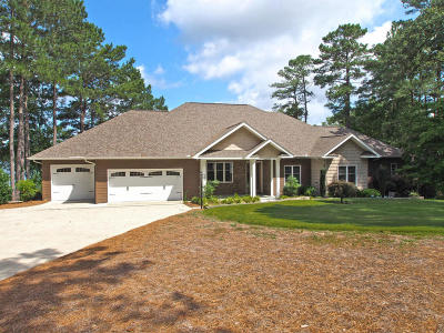 Moore County Single Family Home Active/Contingent: 122 McCracken Drive