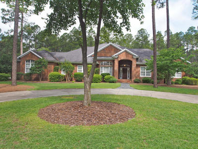 Southern Pines Single Family Home For Sale: 13 Masters Ridge