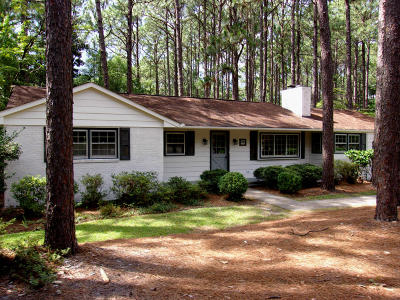 Southern Pines Single Family Home Active/Contingent: 930 N Saylor Street