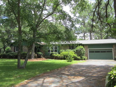 Whispering Pines Single Family Home For Sale: 101 Pine Lake Drive
