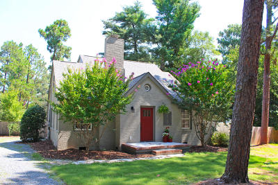 Southern Pines Single Family Home Active/Contingent: 4100 Youngs Road