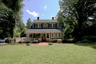 Old Town Single Family Home For Sale: 30 Caddell Road