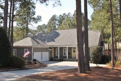 Pinehurst, Southern Pines Single Family Home Active/Contingent: 8 North South Court