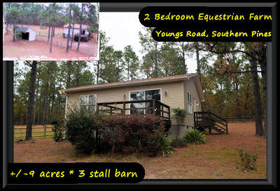 Southern Pines Farm For Sale: 1315 Youngs Road