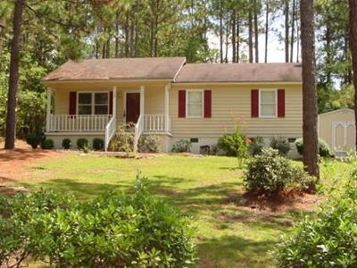 Moore County Rental For Rent: 40 Old Hunt Road