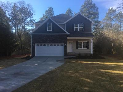 Pinehurst Single Family Home Active/Contingent: 100 Hampton Place