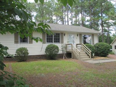Pinehurst NC Single Family Home For Sale: $157,500