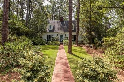Southern Pines Single Family Home For Sale: 435 Country Club Drive