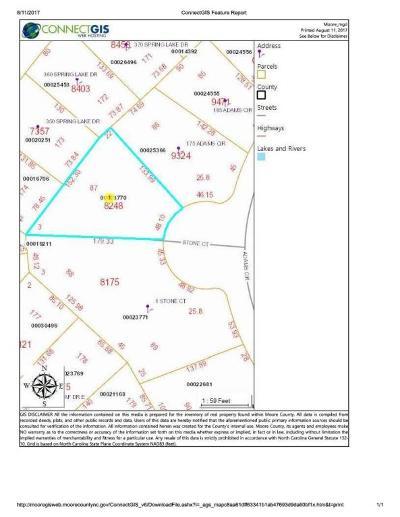 Pinehurst NC Residential Lots & Land For Sale: $40,000