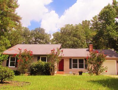 Pinehurst NC Single Family Home Active/Contingent: $154,900