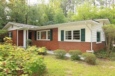 Southern Pines Single Family Home Active/Contingent: 1360 Midland Road